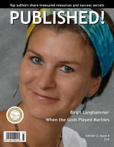 Brigit Langhammer on Published cover